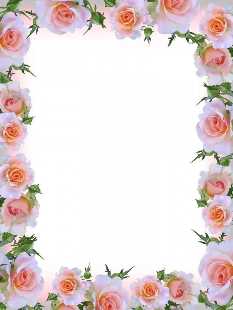 מסגרת לברכה ליום הולדת - פרחים (4)