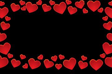 מסגרת לברכה ליום הולדת לבבות – 4