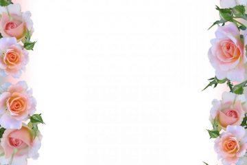 מסגרת לברכה ליום הולדת – יום הולדת שמח פרחים – 7